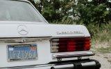 Zabytkowy Mercedes W116 300 SSD Turodiesel Poznań