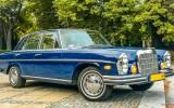 Mercedes S klasa 1972r. - KLIMATYZACJA warszawa