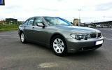 Luksusowe BMW 7 do ślubu Czarnków