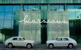 Elegancka Warszawa M20, szałowe kabriolety, wytworny Jaguar Warszawa