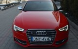 Najnowsze Audi S5, najwyższa klasa, czerwona perła! Kraków