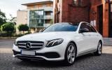 Biały Mercedes Klasa E Limuzyna 2017 lub Białe Audi A5 Sportback 2015r Katowice