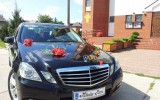 Mercedes E W212 auto do slubu Radom