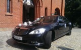 Luksusowy czarny  Mercedes S Wa�brzych