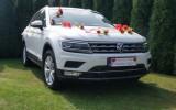 AUTO DO ŚLUBU śnieżnobiały Volkswagen Tiguan Łódź