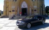 Luksusowe Bmw serii 7 w najmodniejsym kolorze Monaco Blue   ��d�, ��dzkie