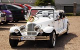 Samochód zabytkowy kabriolet Nestor Baron Auta do ślubu Chrysler 300C Międzyrzec Podlaski