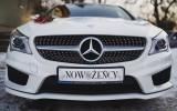 Piękny Nowy biały Mercedes CLA w pakiecie AMG do Ślubu ! Kraków