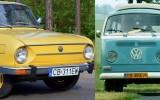 Stara Skoda i VW Ogórek Bydgoszcz