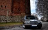 Mercedes w126 1987 r limuzyna  Łomianki
