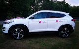 TERMINY18 Biały SUV Tucson 2018 Auto Samochód do Ślubu Wesele Vip Sandomierz