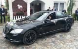 Mercedes klasy S po liftingu na wesela  Bia�ystok