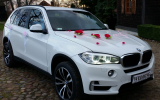 Auto do Ślubu - BMW X5 F15 - nowy model Wieluń