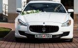 Bentley, Maserati, Jaguar, Phantom - Najlepsze auta do ślubu na rynku  Katowice