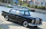 Mercedes W111 oraz Wo�ga GAZ 21 Szczecin