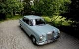Auto Mercedes W110 Skrzydlak do �lubu filmu zdj�� Ciechan�w