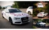 Wynajem samochodu auta na �lub wesele Bia�e AUDI A5 Rybnik i okolice Rybnik