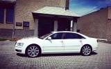 Piękne Audi A8 Long 4,2 Benzyna.Wynajem Ślub, Wesele Najniższa cena ! Pyskowice
