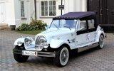 Zabytkowy kabriolet do ślubu Alfa Romeo Spider na wesele RETRO auta Brok
