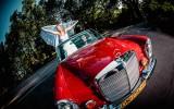 Zabytkowy Mercedes W109, wspania�a limuzyna z lat 70. wroc�aw