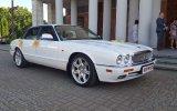 Jaguar XJR - śnieżnobiały kot, sport i elegancja Ostrowiec Świętokrzyski