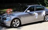 BMW serii 5 - szary metalik Luksus i Elegancja Gliwice