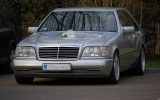 Kultowy Mercedes W140 Chorz�w
