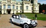 Zabytkowy kabriolet do ślubu Luksusowe samochody RETRO auta na ślub Białystok