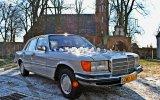Auto do ślubu, Zabytkowy retro Mercedes S, Sportowe AMG, Limuzyna BMW7 Szczecin