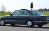 Klasyczny Mercedes w126 Cieszyn
