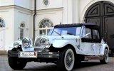 Luksusowe samochody do ślubu Auto zabytkowe na ślub Kabriolet Zielonka