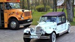 Auto do ślubu RETRO zabytkowe samochody na wesele Luksusowy kabriolet Warka