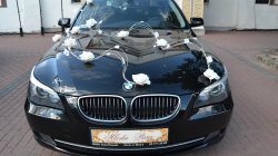 Czarne BMW 5 e60 LIFTING - zawiozę do ślubu Warszawa i okolice