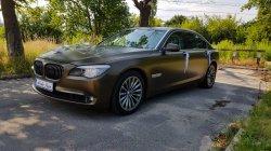 Wyjątkowe auto do ślubu BMW 7 Łódź