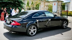 Samochód do ślubu Mercedes CLS Audi A8 Kraków