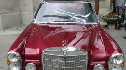 Auta do ślubu Gliwice - piękne Mercedesy Ponton oraz S-klasa  Gliwice