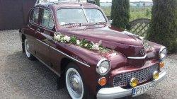Auto do ślubu Malanów