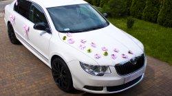 SUPERB II 4x4 - Białe Auto do Ślubu Katowice