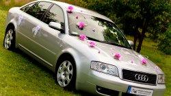 Auto Samochód do Ślubu Audi A6 Kłomnice