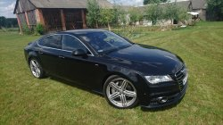 Piekne Audi A7 S-LINE Lipsko