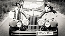 Luksusowe samochody do ślubu Kabriolet RETRO auta zabytkowe na wesele Warszawa