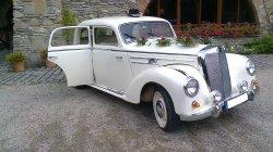 Zabytkowy Mercedes  Kraków