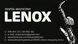 Zespół muzyczny LENOX Skalbmierz