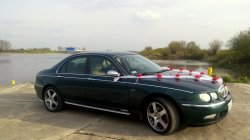 Piękny Rover 75 do ślubu Gniew