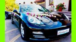 Warszawa Porsche Panamera auto do ślubu samochód na wesele Warszawa