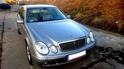 Samochód, limuzyna do ślubu wynajem Mercedes e-klasa Lublin okolice Łęczna