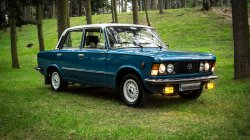 Fiatem 125p do ślubu Przeworsk