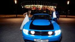 Mustangiem do ślubu Legionowo