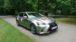 Piękny i luksusowy Lexus GS - limuzyna do ślubu Poznań Poznań