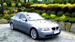 Elegancka Limuzyna BMW E60 5 Alternatyw! JasnaSkóra! PROMOCJA -20%! Kraków